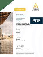 afhea certificate