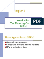 Chapter 1 Enduring Context of IHRM