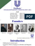 Integrated Marketing Communication (IMC) Unilever (Rexona)