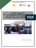 Rapport Final Caravane de Sensibilisation Sur Le Vih PF Mgf 2015