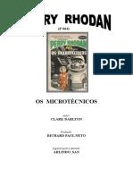 P-063 - Os Microtécnicos - Clark Darlton