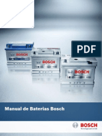 Manual de Baterias Automotiva Bosh