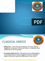 Classical Greece 8th 2018