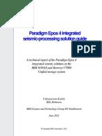 Paradigm Epos 4 Integrated Seismic Processing