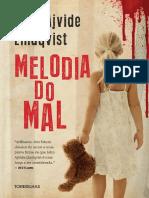 Melodia Do Mal - John Ajvide Lindqvist