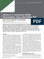 Advances in Measuring Cellular Bioenergetics Using Extracellular Flux