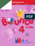 Inglés 4º Básico 2018-Homework Book