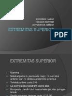 Kuliah 2 - Extremitas Superior (Dr. Hasan)