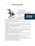 Microscopul Optic