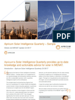 Apricum Sample Report Solar Intelligence Quarterly Q1 2017