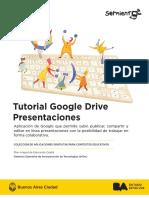 Tutorial Google Drive - Presentaciones