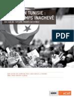 Acat-trial Justice en Tunisie-un Printemps Inacheve Janvier2014