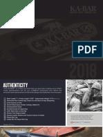KABAR 2018 Catalog