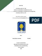 Tugas Resume Isa 700, 701