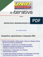 Slides Geopolítica Unidade I
