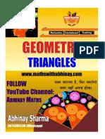 Geometry Triangles