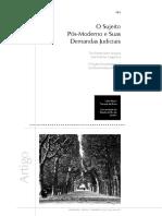 O sujeito pós moderno e suas demandas judiciais.pdf
