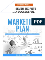 Marketing Plan 7 Secrets to a Successful Marketing Plan