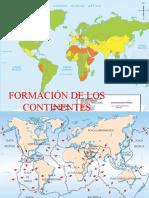 FORMACION DE CONTINENTES