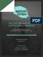 18 Mayo PDF Info Completa Gestión Del Estrés