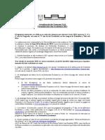 Formalizacion Anio Academico 2015