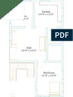 PROJECT 1-Floor Plan - Level 1-Model
