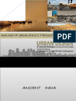 Class 09 Ud - Analysis of Urban Spaces India