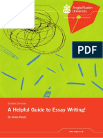A Helpful Guide to Essay Writing!