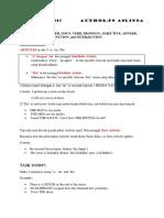 Grammar Notes by Aslinda Rahman
