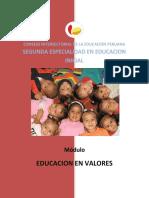 C.5 Educacion en Valores