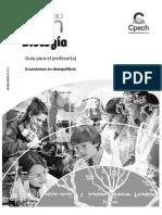 GPR Ecosistemas en Desequilibrio. Primero Medio