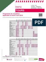 Tours - Vierzon - Bourges - Nevers