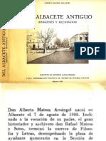 1.- Del Albacete Antiguo a Mateos