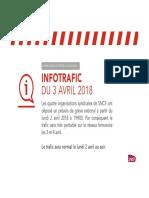 CP Infotrafic 3 Avril 2018 VD