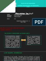 Etica Minima Capitulos 6 y 7