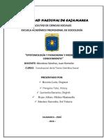 Arreglado Epistemología y Paradigma y Modelos de Conocimiento