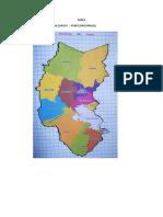 Tarea Caminos Provincias y Distritos