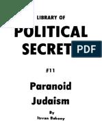 Bakony Itsvan - Paranoid Judaism