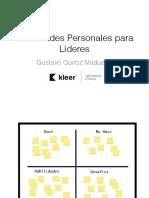 Habilidades Personales Para Líderes
