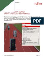 FUJITSU PRIMERGY SERVER BASICS OF DISK I/O PERFORMANCE