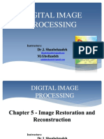 Chapter 5 - Image Restoration and Reconstruction - Ppt1