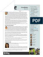 Newsletter 2008 07July