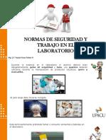 N°1 normas de seguridad en el laboratorio