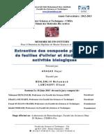 Extraction Des Composes Phenol - ARAQAS Hajar_1462