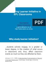 Learner Initiative