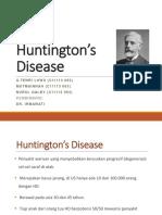 Huntingtons Disease