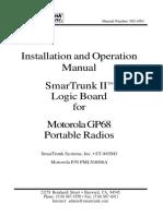Motorola Gp68 Users Manual