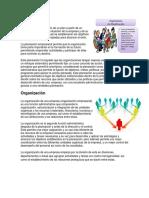 Planificación, Organizacion, Direccion, Control, Vision y Mision de Una Empresa