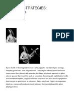 Soloing Strategies_ Frank Zappa - GW