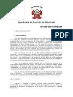 RS-010-2007-APN-DIR, Norma Nacional de Seguridad Portuaria y Obtención de Certificado de Seguridad Portuaria